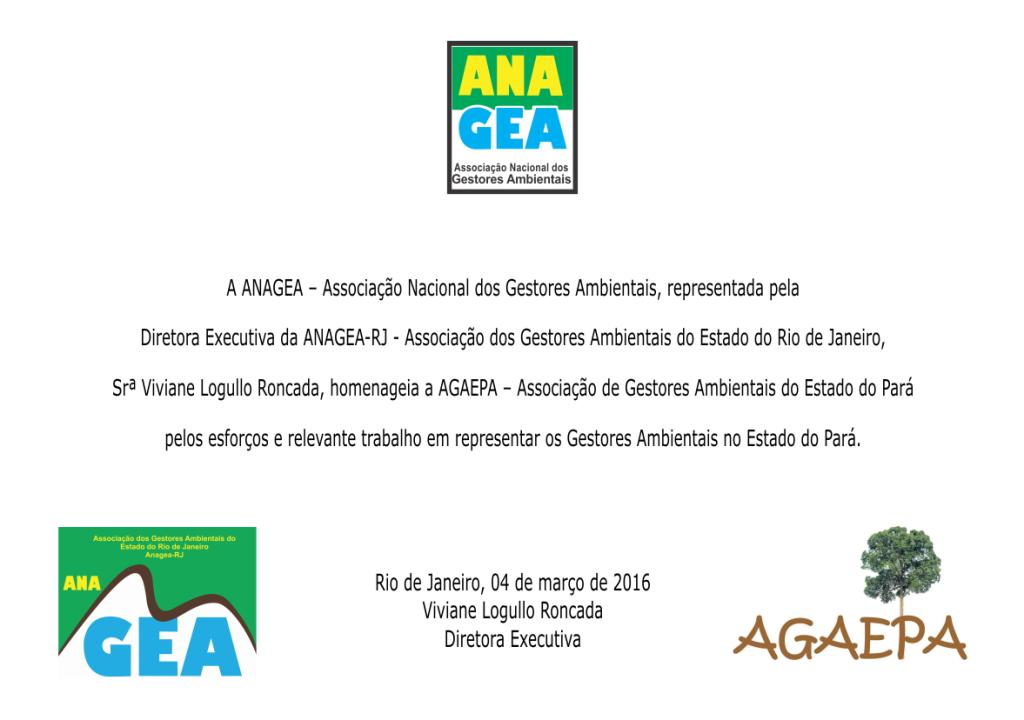 Placa Agaepa